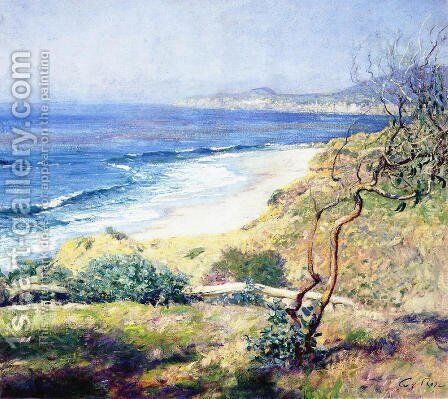 Laguna Shores by Guy Rose - Reproduction Oil Painting
