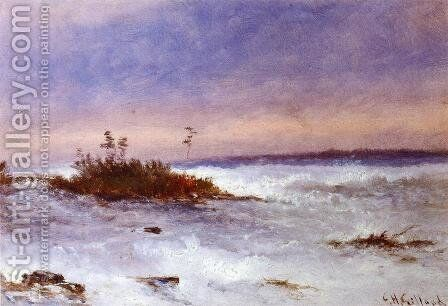 Choppy Water, Possibly Niagara, New York by Charles Henry Gifford - Reproduction Oil Painting