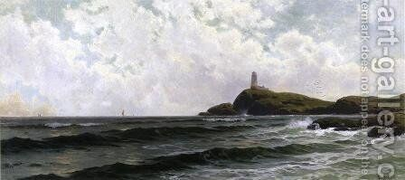 White Island Lighthouse, Isles of Shoals by Alfred Thompson Bricher - Reproduction Oil Painting