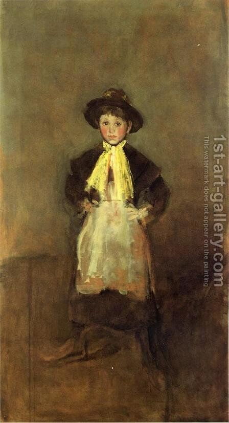 The Chelsea Girl by James Abbott McNeill Whistler - Reproduction Oil Painting