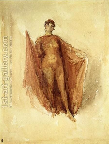 Dancing Girl by James Abbott McNeill Whistler - Reproduction Oil Painting