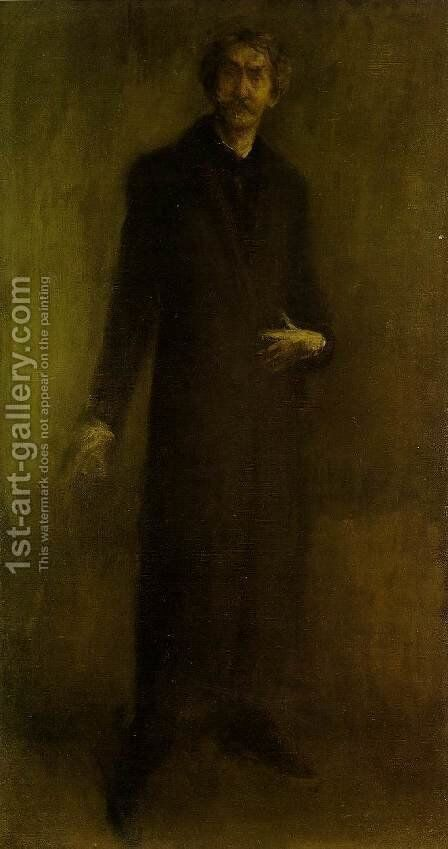Brown and Gold by James Abbott McNeill Whistler - Reproduction Oil Painting