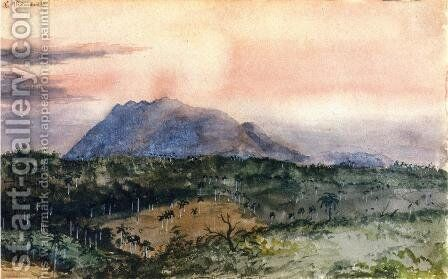La Loma de Las Animas by Charles DeWolf Brownell - Reproduction Oil Painting