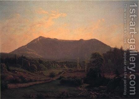 Mount Mansfield from Underhill by Charles Louis Heyde - Reproduction Oil Painting