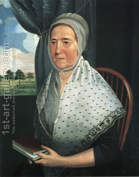 Amelia Heiskell Lauck by Jacob Frymire - Reproduction Oil Painting