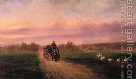Old Gentilly Road by Andres Molinary - Reproduction Oil Painting