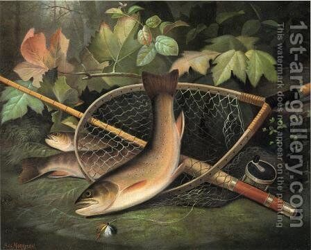 Trout by Hal Alexander Courtney Morrison - Reproduction Oil Painting