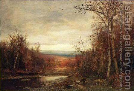 Clearing Skies by Jervis McEntee - Reproduction Oil Painting