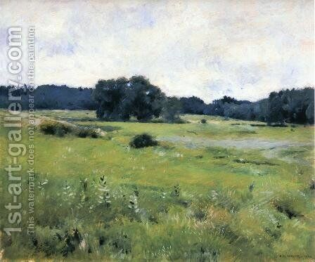 Meadow Lands by Dennis Miller Bunker - Reproduction Oil Painting