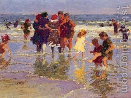 A July Day by Edward Henry Potthast - Reproduction Oil Painting