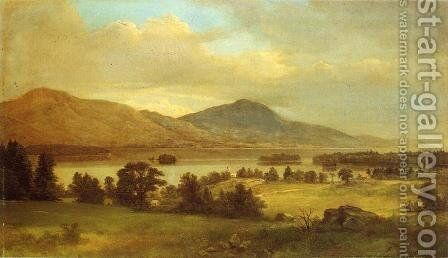 Summer on Lake George by Asher Brown Durand - Reproduction Oil Painting