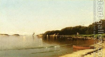 Sailing off the New England Coast by Alfred Thompson Bricher - Reproduction Oil Painting