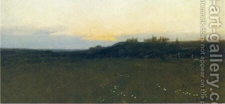 Sunrise by Albion Harris Bicknell - Reproduction Oil Painting