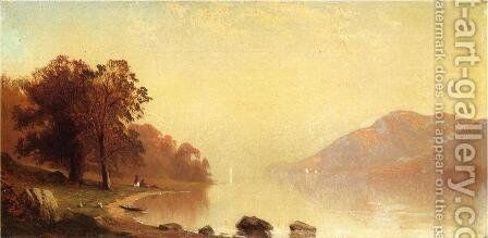 Lake George by Alfred Thompson Bricher - Reproduction Oil Painting