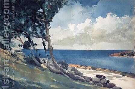 North Road, Bermuda by Winslow Homer - Reproduction Oil Painting