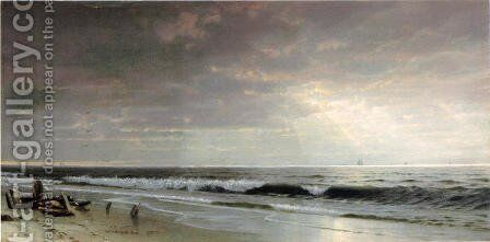 Along the Atlantic by William Trost Richards - Reproduction Oil Painting
