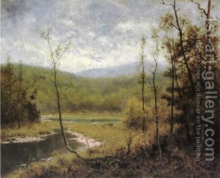 Quiet Stream, Adironcack Mountains by Alexander Helwig Wyant - Reproduction Oil Painting