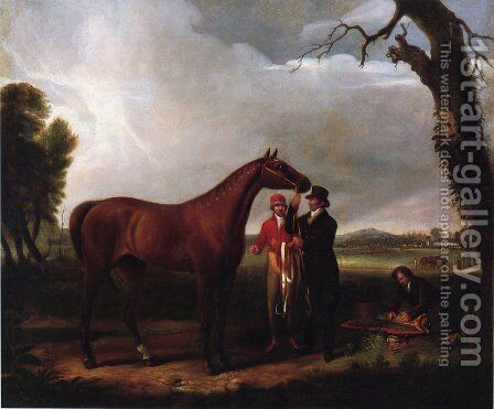 Eclipse, with Race Track by Alvan Fisher - Reproduction Oil Painting