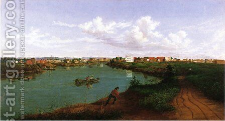 Stockton by Albertus (Del Orient) Browere - Reproduction Oil Painting