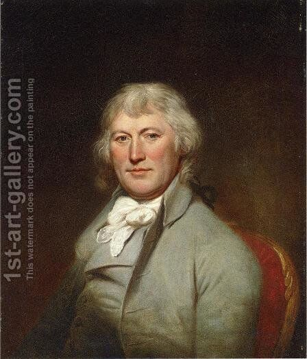 Portrait of James W. DePeyster by Charles Willson Peale - Reproduction Oil Painting
