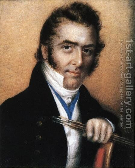 Rembrant Peale by Anna Claypoole Peale - Reproduction Oil Painting