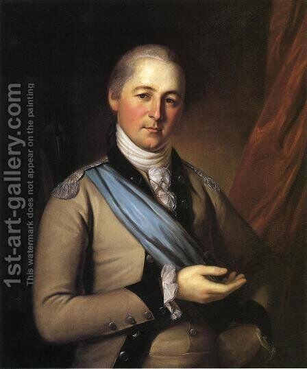 General Joseph Bloomfield by Charles Willson Peale - Reproduction Oil Painting