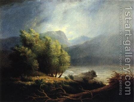 Landscape by James Peale - Reproduction Oil Painting