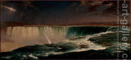 Niagara Falls by Frederic Edwin Church - Reproduction Oil Painting