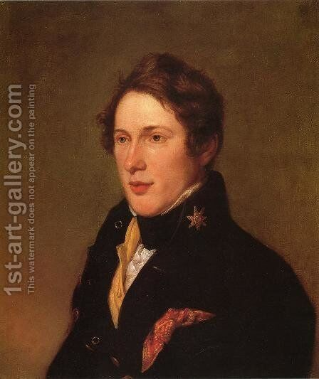 Titian Ramsay Peale by Charles Willson Peale - Reproduction Oil Painting
