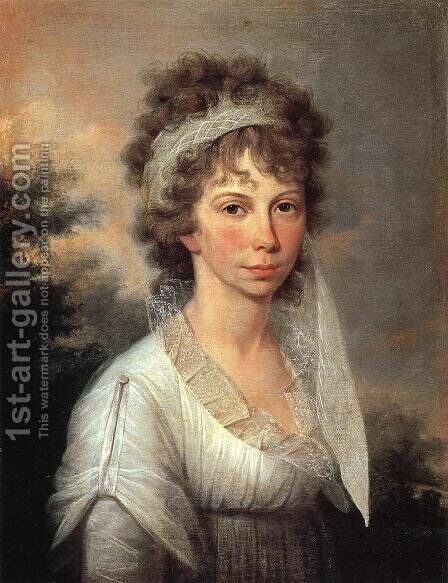 Jane Ramsay Peale by James Peale - Reproduction Oil Painting