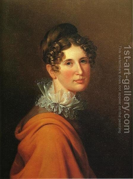 Portrait of Margaretta Peale by James Peale - Reproduction Oil Painting