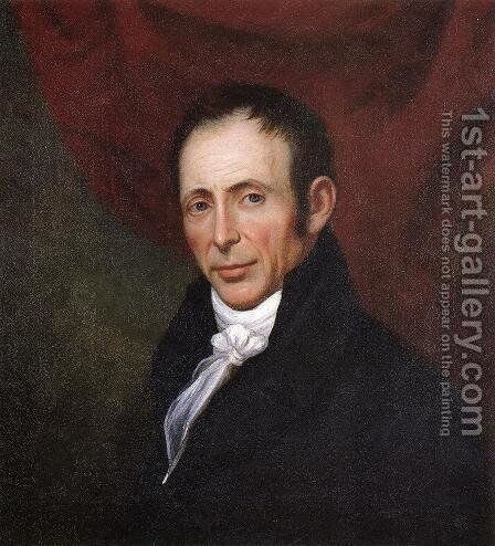 Self Portrait by Charles Peale Polk - Reproduction Oil Painting