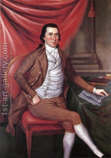 Isaac Hite by Charles Peale Polk - Reproduction Oil Painting