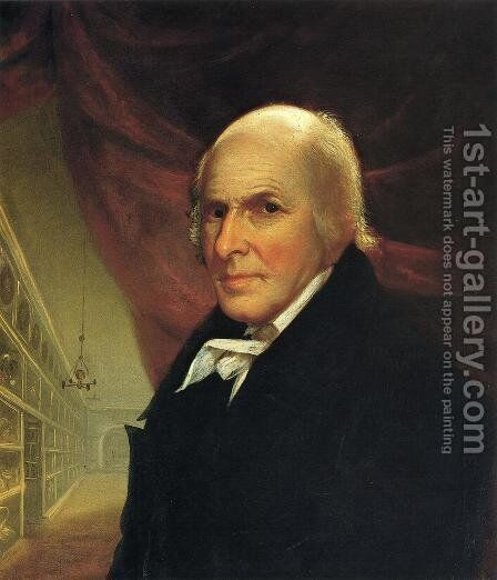 Self Portrait by Charles Willson Peale - Reproduction Oil Painting