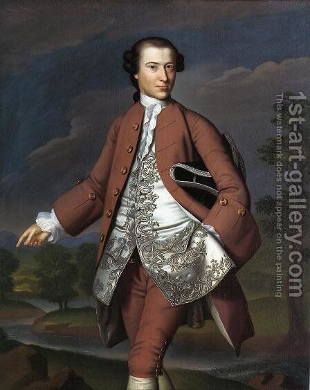Theodore Atkinson Jr. by John Singleton Copley - Reproduction Oil Painting