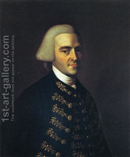 John Hancock I by John Singleton Copley - Reproduction Oil Painting