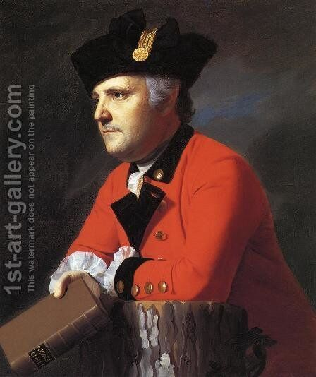 John Montresor by John Singleton Copley - Reproduction Oil Painting