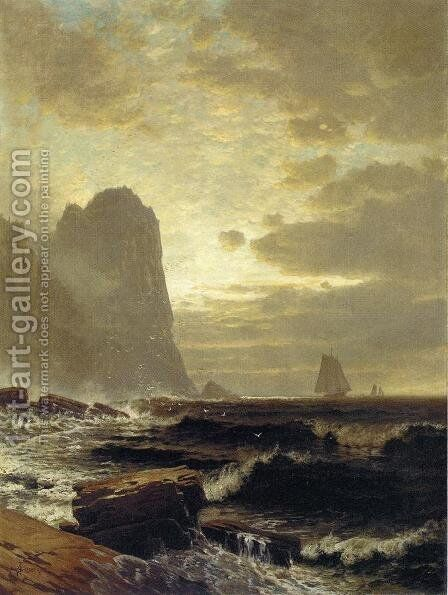 At the South Head, Grand Manan by Alfred Thompson Bricher - Reproduction Oil Painting