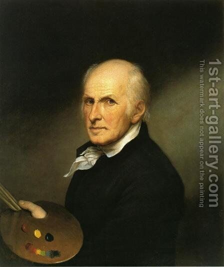 Self Portrait I by Charles Willson Peale - Reproduction Oil Painting