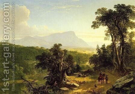 Landscape - Composition: In the Catskills by Asher Brown Durand - Reproduction Oil Painting