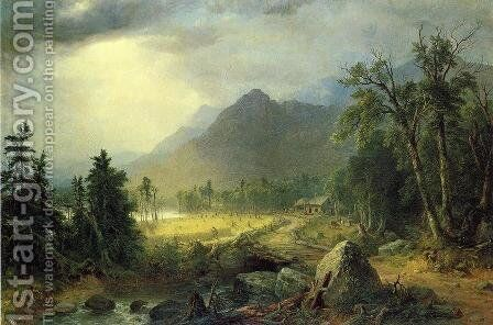 The First Harvest in the Wilderness by Asher Brown Durand - Reproduction Oil Painting