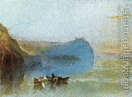Scene on the Loire by Turner - Reproduction Oil Painting