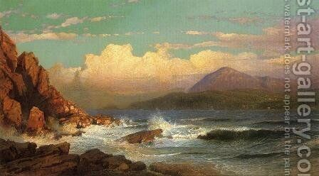 Mt. Desert, Maine by William Trost Richards - Reproduction Oil Painting
