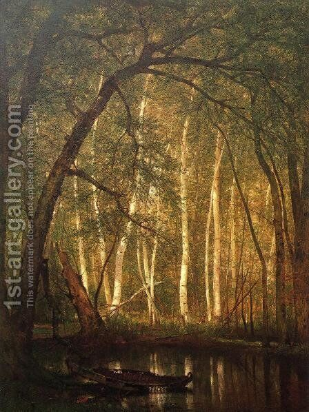The Old Hunting Ground I by Thomas Worthington Whittredge - Reproduction Oil Painting