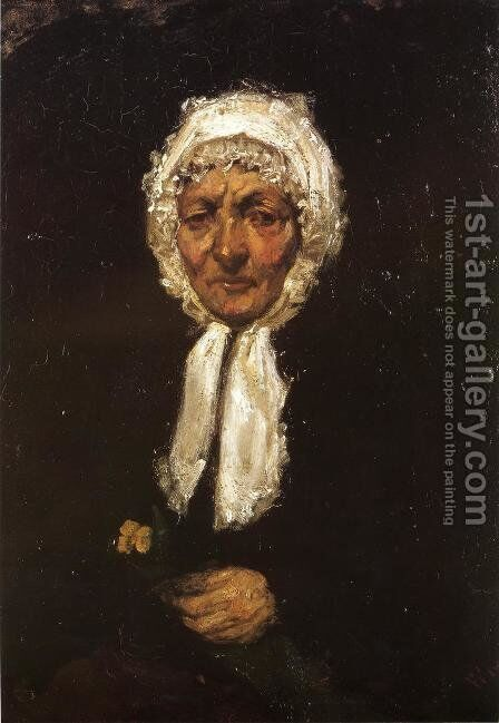 Old Mother Gerard by James Abbott McNeill Whistler - Reproduction Oil Painting
