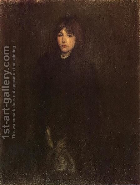 The Boy in a Cloak by James Abbott McNeill Whistler - Reproduction Oil Painting