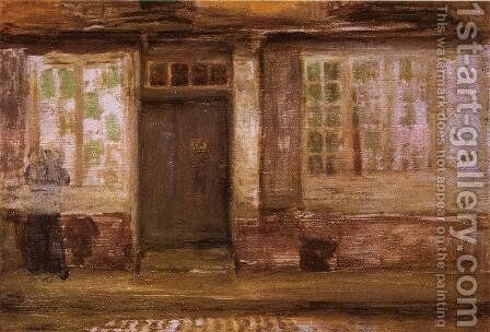 The Priest's Lodging, Dieppe by James Abbott McNeill Whistler - Reproduction Oil Painting