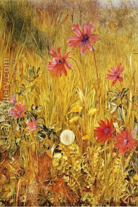 Wildflowers by Henry Roderick Newman - Reproduction Oil Painting