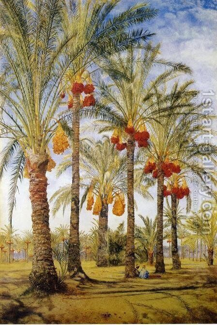 Ramleh by Henry Roderick Newman - Reproduction Oil Painting