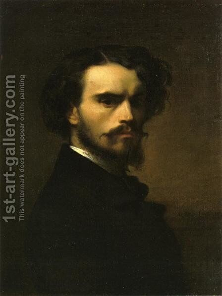 Self Portrait I by Alexandre Cabanel - Reproduction Oil Painting